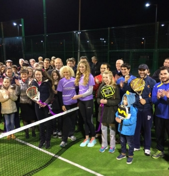 Official Opening of new padel courts in Cavan Lawn Tennis Club