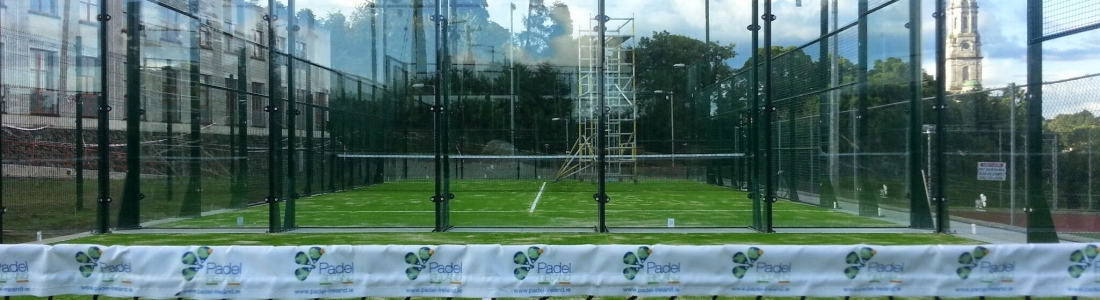 New padel courts underway