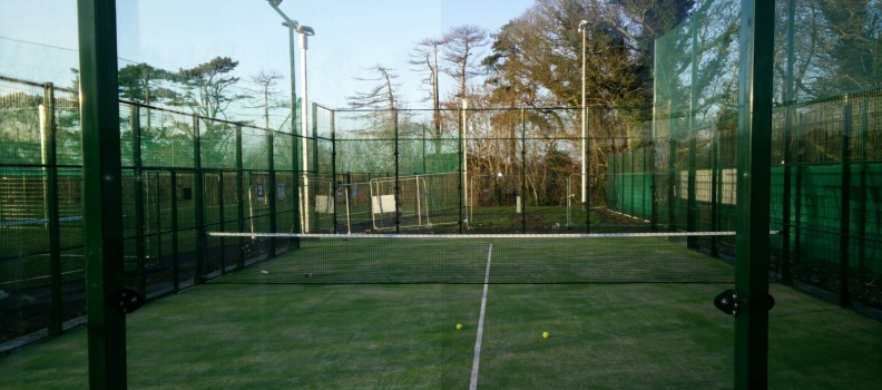 New Padel Ireland Court in Portmarnock