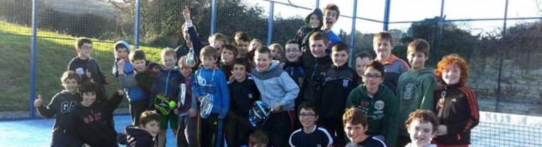 Junior Padel Tournament in Rockbrook Padel Club on the 4th February